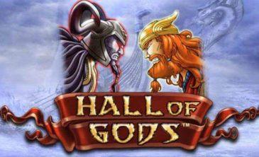Reseña de la tragaperras Hall Of Gods de NetEnt en Juegos Palacio