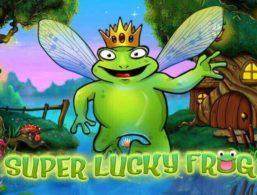 Super lucky Frog – NetEnt