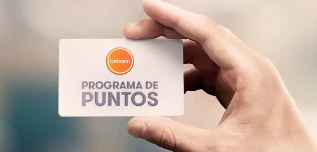 Se parte del programa de puntos de casino Besson.