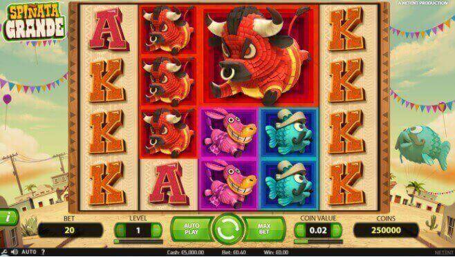 Juega en la slot spinata en 888 casino
