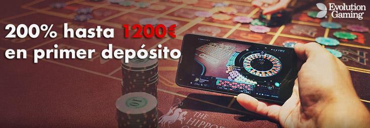 Bonos de live casino