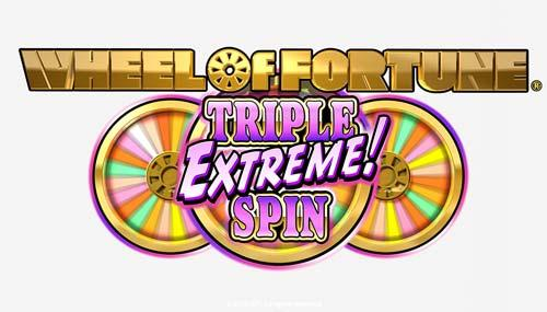 IGT Wheel of Fortune Triple Extreme Spin Logo