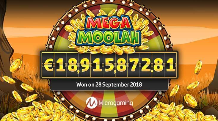 screenshot of the jackpot wheel and win from mega moolah   56/5000 Captura de pantalla de la rueda del premio mayor y ganar de Mega Moolah